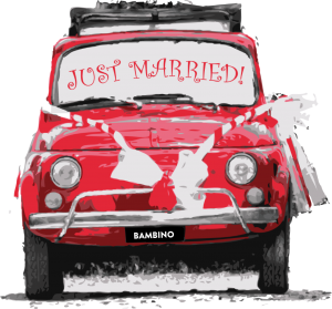 Mondo Nougat Wedding Car